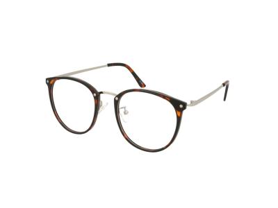 Blaulichtfilter Brillen ohne Sehstärke Computer-Brille Crullé TR1726 C3