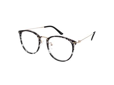 Blaulichtfilter Brillen ohne Sehstärke Computer-Brille Crullé TR1726 C5
